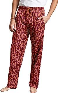 Champion Men's Life Stretch Woven Sleep Pants (Burnt Orange, Small)
