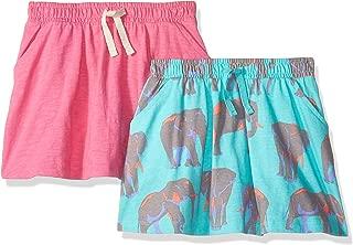 Amazon Brand - Amazon Brand - Spotted Zebra Girl's Toddler & Kids 2-Pack Knit Twirl Scooter Skirts