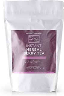 10th Avenue Tea Authentic, Premium Green Tea Matcha Powder (Berry Herbal)