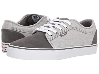 Vans Chukka Low ((Suiting) Pewter/Frost Gray) Skate Shoes