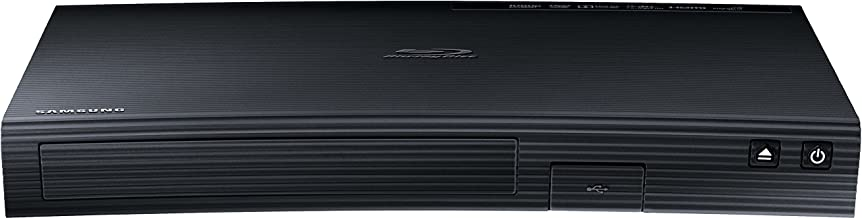 Samsung BD-J5500 3D Blu-ray Player (Curved Design, HDMI, USB) schwarz