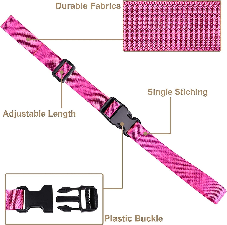 MAGARROW 40 60 Strap Buckle Packing Straps Adjustable 1-Inch Belt