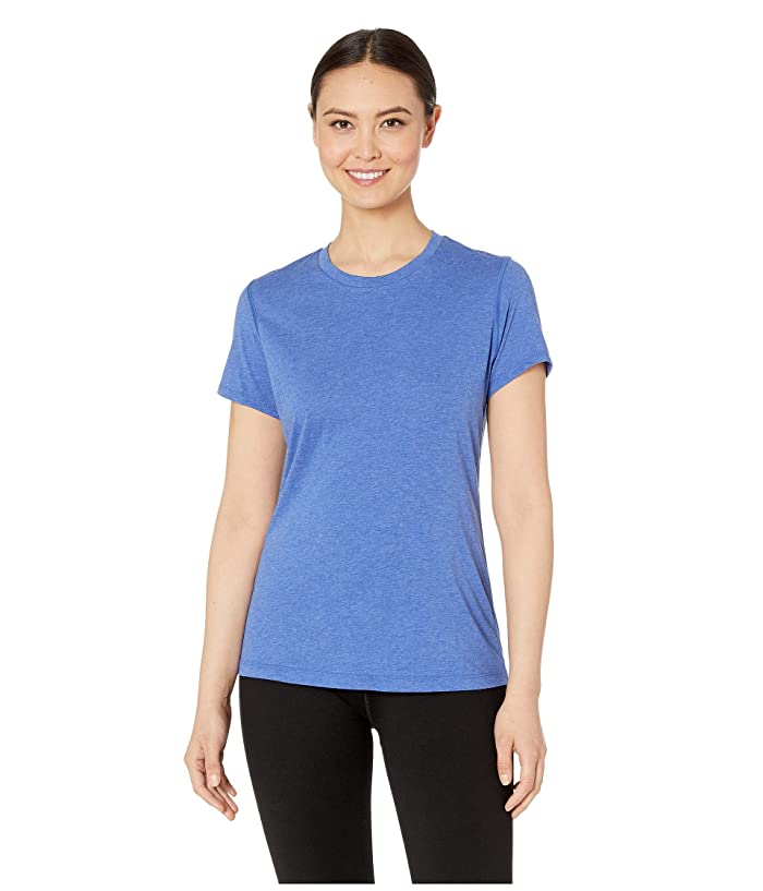 New Balance Heather Tech Tee (UV Blue Heather) Women