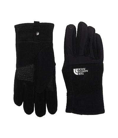 The North Face Kids Denali Etip Gloves (Big Kids) (TNF Black) Extreme Cold Weather Gloves