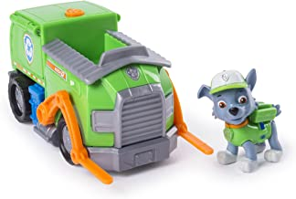 Paw Patrol Rocky's Transforming Recycle Truck with Pop-out Tools and Moving Forklift, for Ages 3 and Up