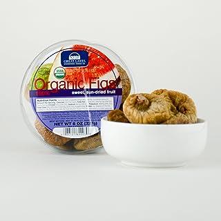 Turkish Organic Figs - 8oz Round Pack (Kosher)