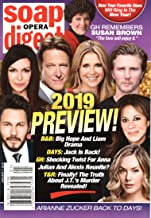 Soap Opera Digest Magazine January 7 2019 2019 Preview Issue Scott Clifton Finola Hughes Matthew Ashford Melissa Reeves Thad Luckinbill Nancy Lee Grahn Annika Noelle