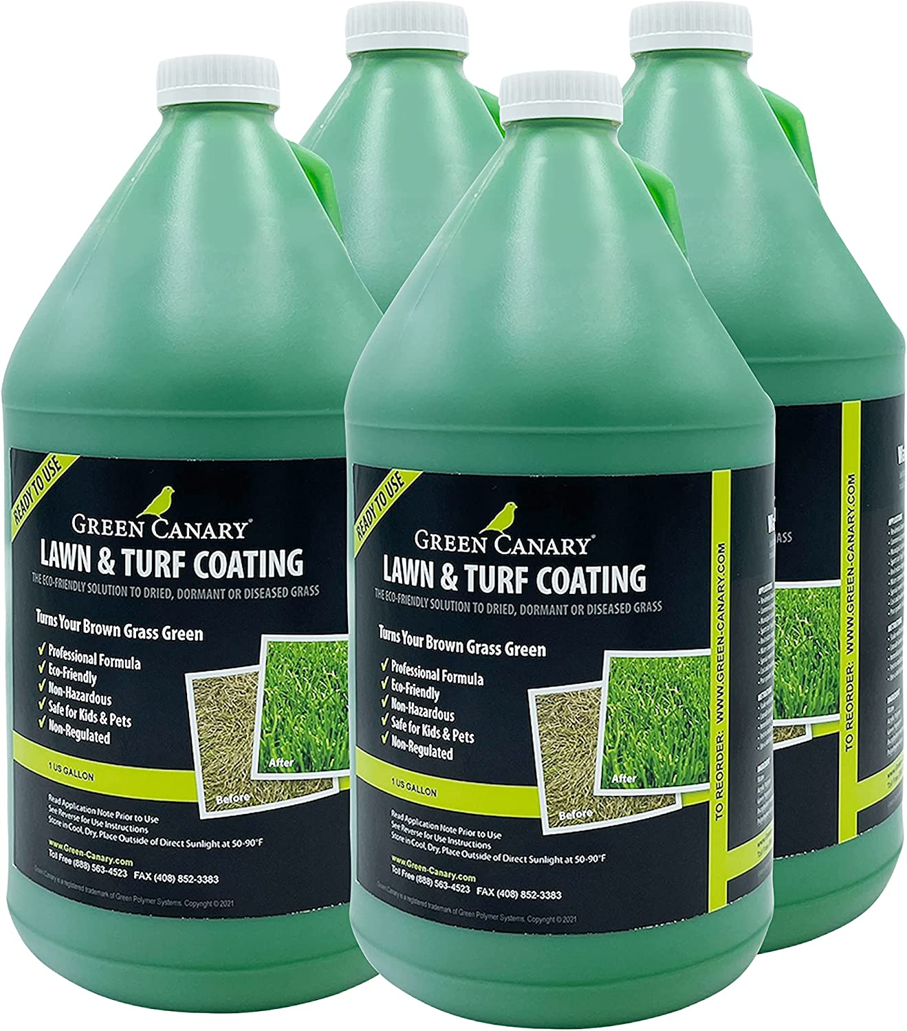 Green Canary 4 Gallons Environmentally Over item handling ☆ Sale Tu Natural Looking Safe