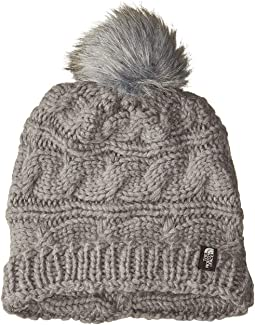 424a4361b71 Ugg nyla cable scarf with lurex and fur pom grey heather m