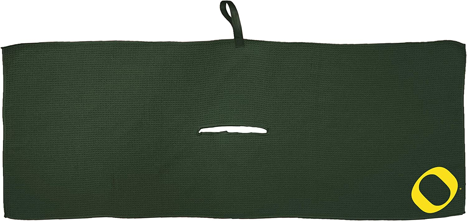 Team Golf NCAA Towel with Clip Portland Mall Premium Carabiner 70% OFF Outlet Microfibe