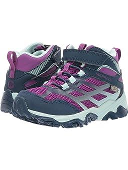Merrell M Moab FST Mid A//C Waterproof Chaussures de Fitness Mixte Enfant