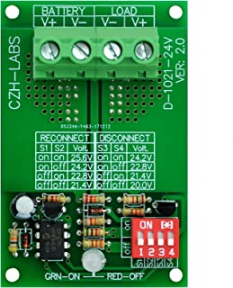 CZH-LABS Electronics-Salon Low Voltage Disconnect Module LVD, 24V 30A, Protect/Prolong Battery Life.