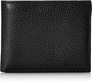Cole Haan Men's Pebble Leather Bifold Wallet with Passcase