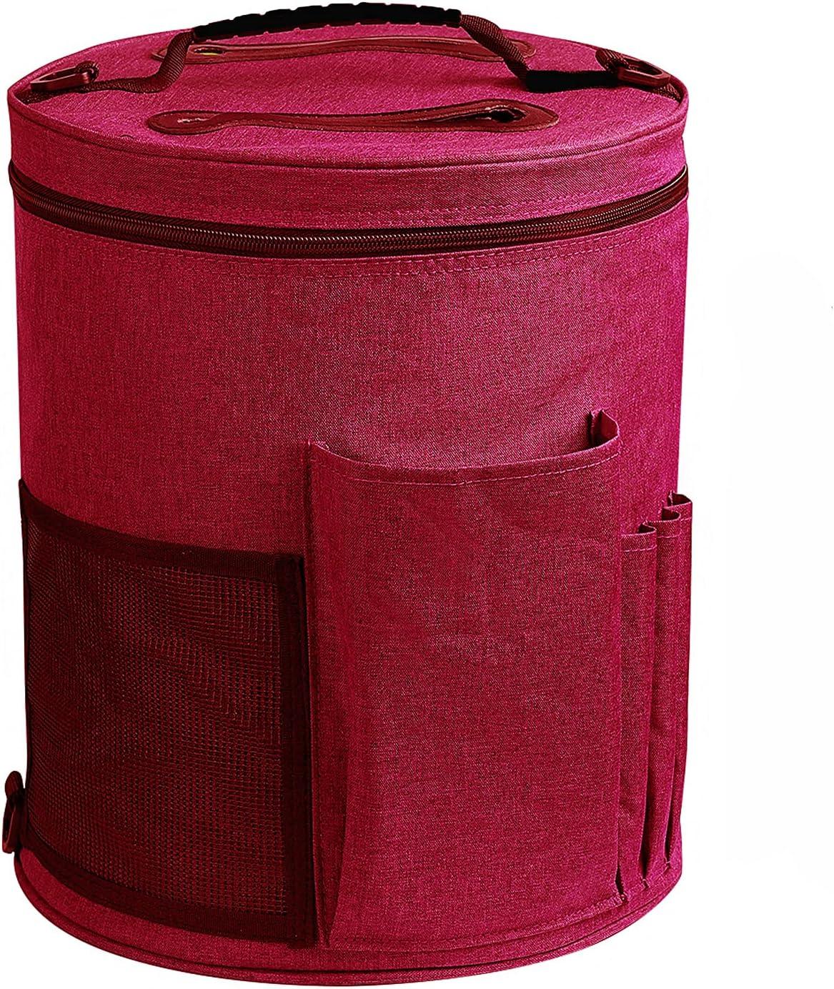 Max 60% OFF Weabetfu Large Capacity Portable Yarn St Save money Knitting Tote Organizer