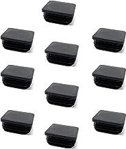 Stopfen WEIß 50 x Lamellenstopfen Vierkantrohrstopfen 30 x 30 mm Außen 0.11€//