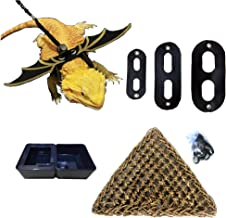 ZooRoom-Bearded Dragon Accessories-Leash Harness-Hammock-Food Dish