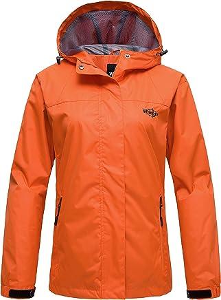 Randonnee Vestes de sport femme de couleur orange comparez