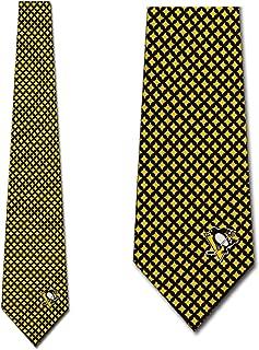 Pittsburgh Penguins Ties Mens Diamante Necktie by Eagles Wings