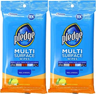 Pledge Multi Surface Everyday Wipes 25 ea