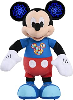 Mickey Mouse Hot Dog Dance Break Mickey Plush, Multi-color, 15 inches