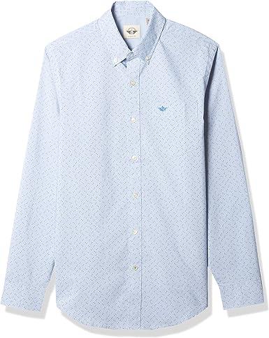 Dockers Long Sleeve Button Up Shirt Camisa Abotonada para Hombre