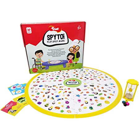 Toiing Spytoi - Fun Educational Spotting Board Game for Kids (5 Year Olds & Above) - Fun Social Emotional Game to Develop Observation Skills & Emotional Intelligence, Great Birthday Gift Option