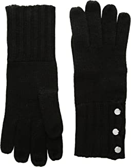 MICHAEL Michael Kors - Rib Gloves