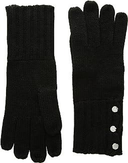 MICHAEL Michael Kors - Rib Gloves