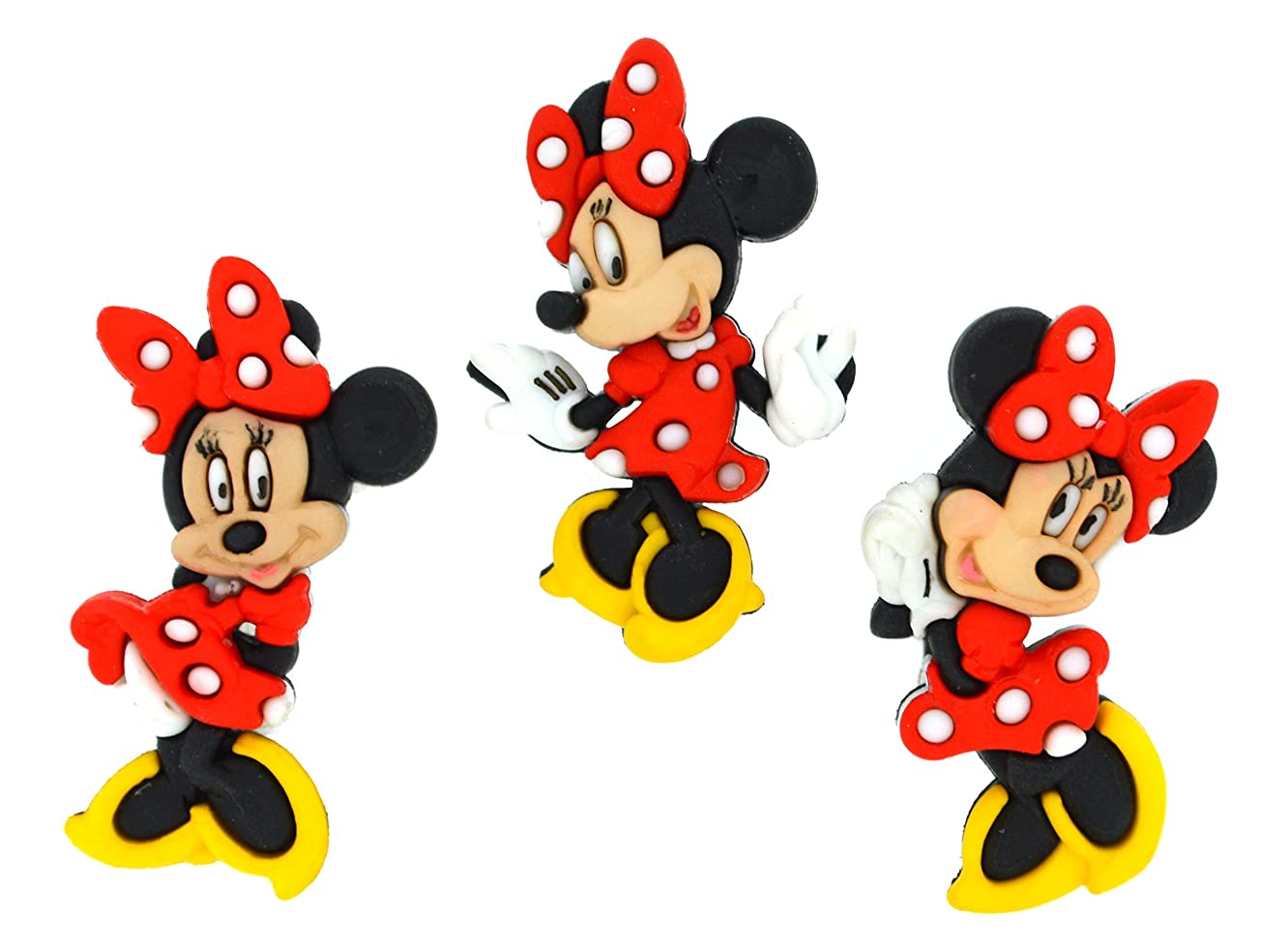 Dress It Up 7717 Disney Button Embellishments, Minnie Mouse