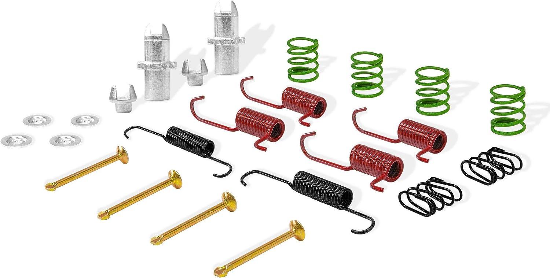 Rear Dynamic Max 48% OFF mart Friction Company Brake 370-75001 Kit Hardware Drum