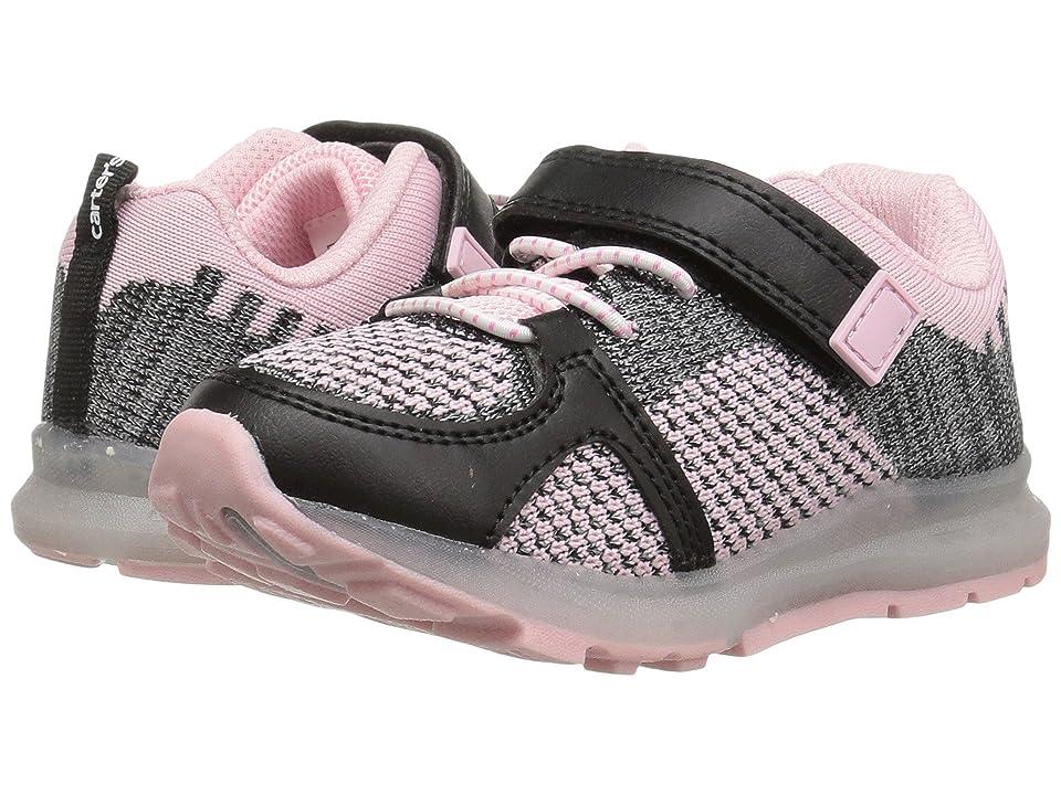 Carters Tris (Toddler/Little Kid) (Black/Pink) Girl