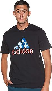 adidas mens MEN HAZY DREAMS LOGO T-SHIRT T-Shirt