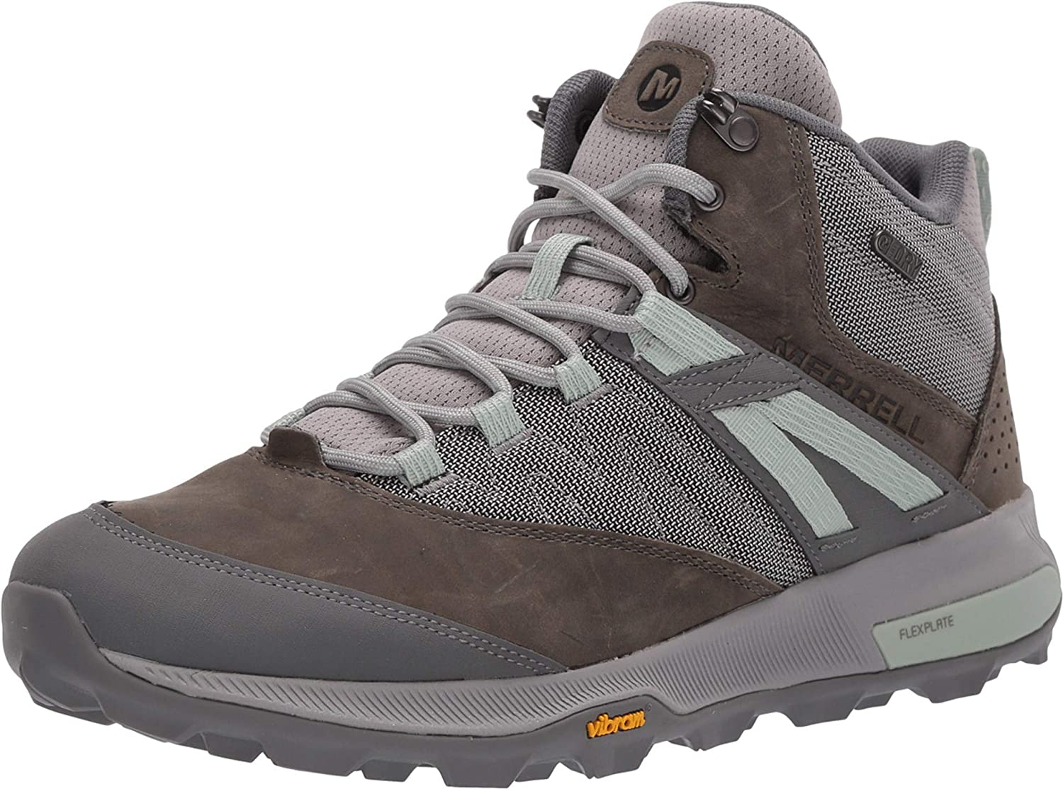 Merrell Mens Zion Mid Wp Hiking Boot
