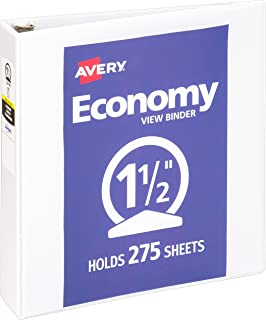 Avery Economy View Ring Binder 1.5""