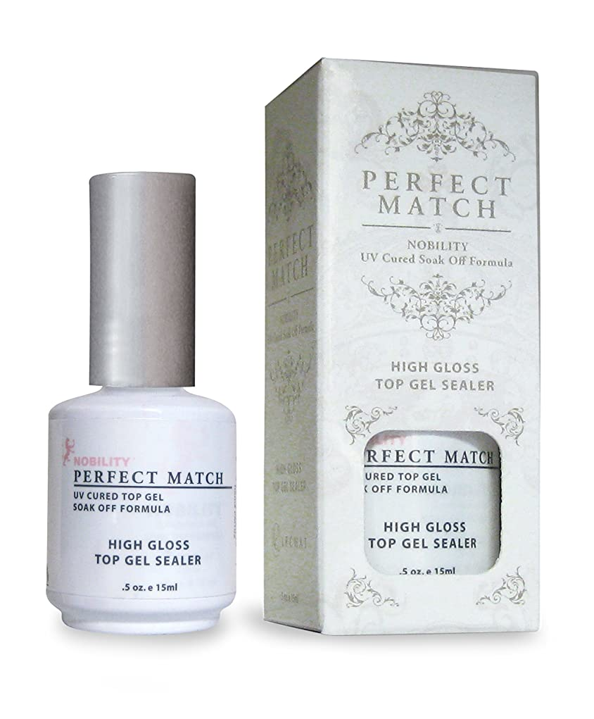 傑作ホームブランクLECHAT Perfect Match High Gloss Top Sealer, 0.5 Ounce