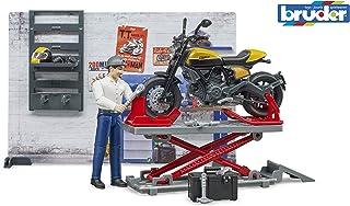 <h2>bruder 62102 Bworld Motorradwerkstatt mit Scrambler Ducati Full Throttle</h2>