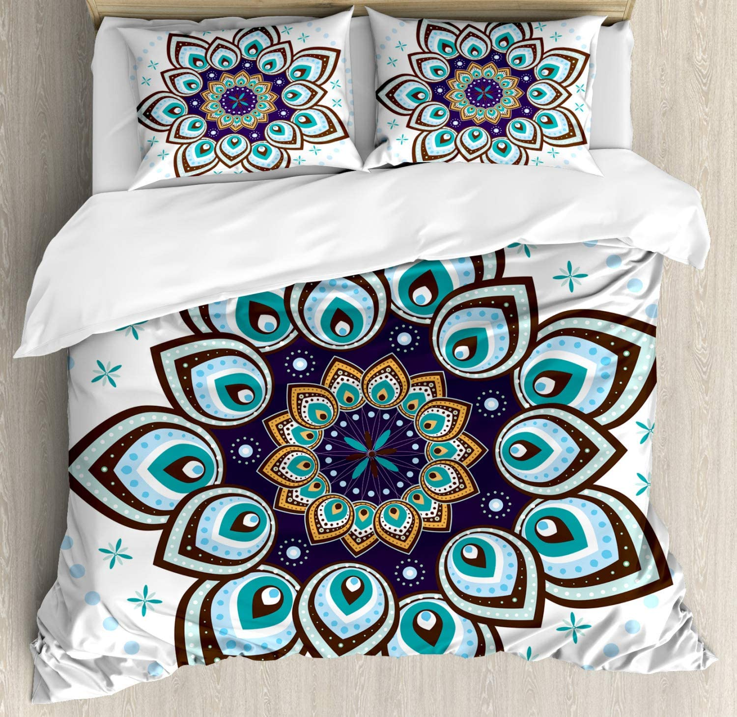 Ambesonne Skull Duvet Cover Set Decorative 2 Piece Bedding Set with 1 Pillow Sham Twin Size Punk Rocker Skeleton Boy on a Skateboard Skiing with Abstract Background Grey Cream