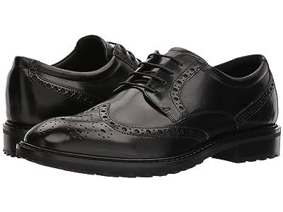 ECCO Vitrus I Wingtip Tie (Black) Men