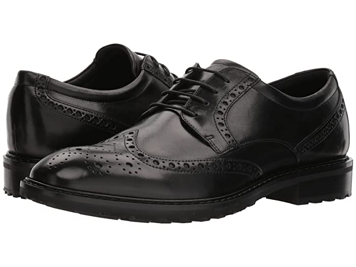 ecco wingtip dress shoes