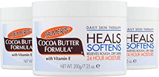 Palmer's Cocoa Butter Formula Daily Skin Therapy Body, Solid Formula Lotion Jar, 7.25 Oz. (Pack of 3)