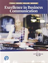Excellence in Business Communication, Sixth Canadian Edition (6th Edition)