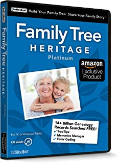 Family Tree Heritage Platinum