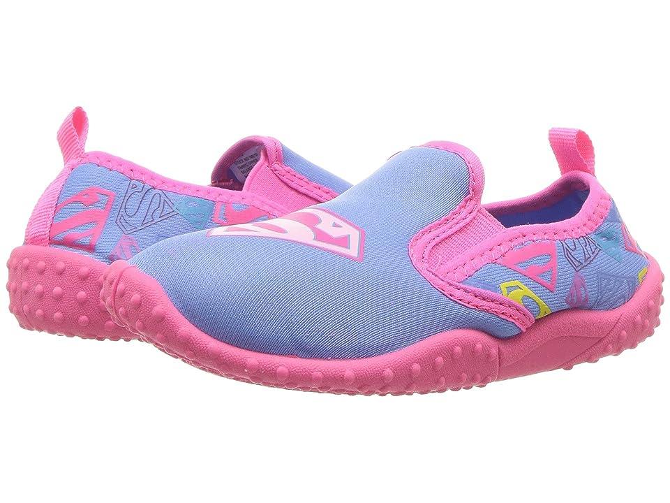 Favorite Characters Supergirltm Slip-On (Toddler/Little Kid) (Pink) Girls Shoes