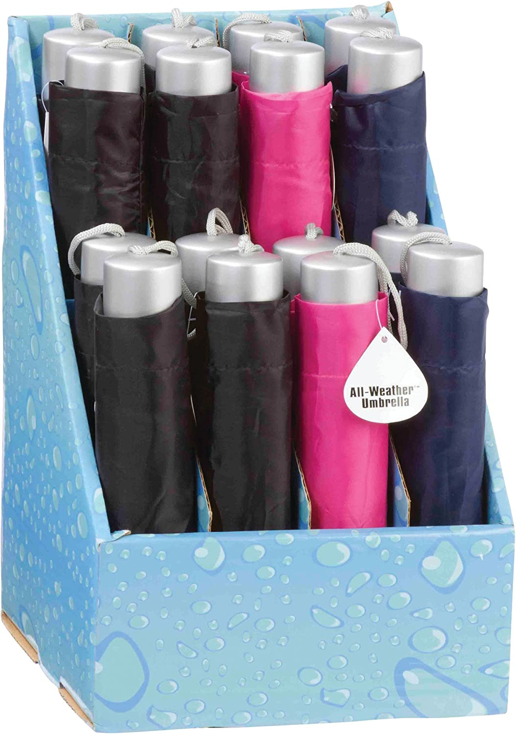 All-Weather? 16pc 42  Umbrellas in Countertop Display