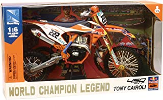 New-Ray - 49673 - Replica 1:6 Race Bike Ktm450sxf MXGP Antonio Cairoli