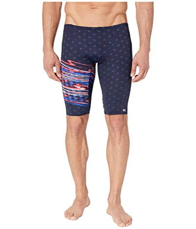 TYR Victorious Jammer Swim Briefs (Red) Men
