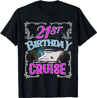 Best 21st birthday cruise shirts Reviews
