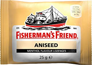 Fishermans Friend Aniseed Flavour 24 Bags of 25g (1 Box)