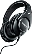 Shure SRH840 Professional Monitoring Headphones optimized for Critical Listening and Studio Monitoring