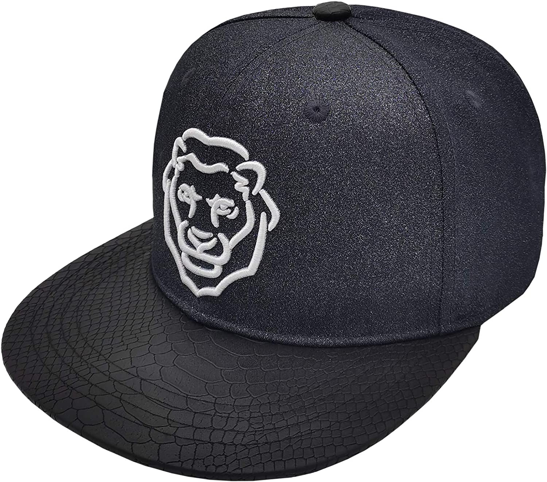 SENERTAI Adjustable Embroidered Flat Bill Snapback Hat Flat Brim Cool Hip-Hop Hat Baseball Cap for Men and Women